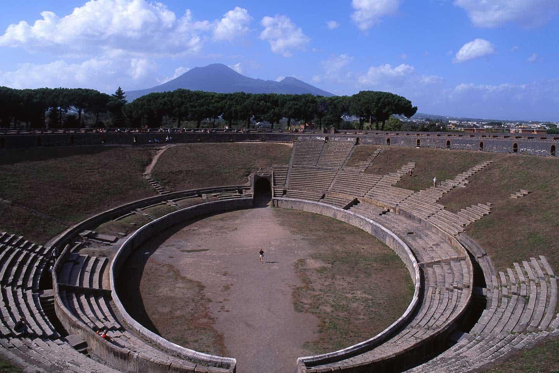 Image of Pompeii's Amphitheatre