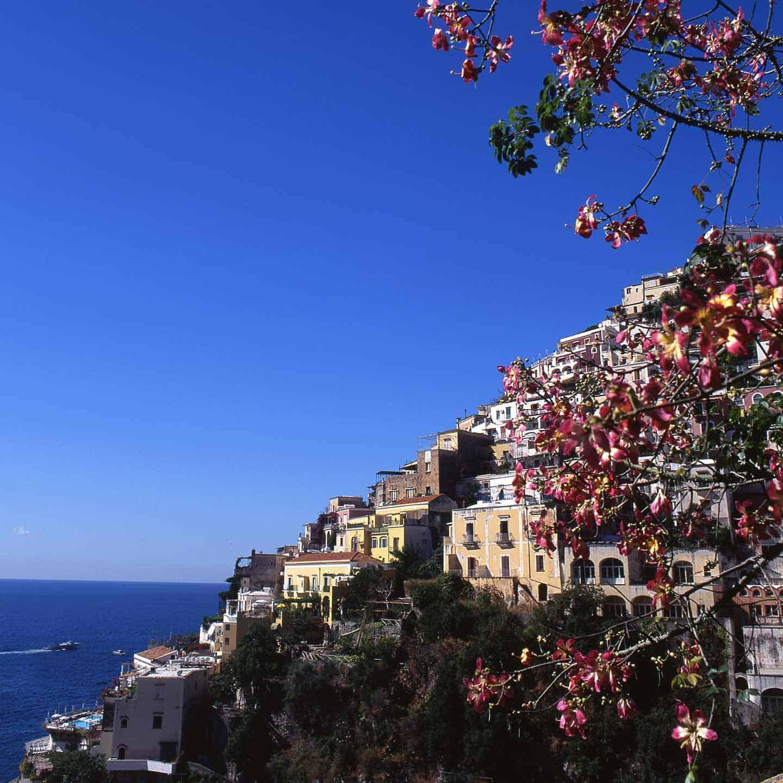 Image of Positano on the Amalfi Coast
