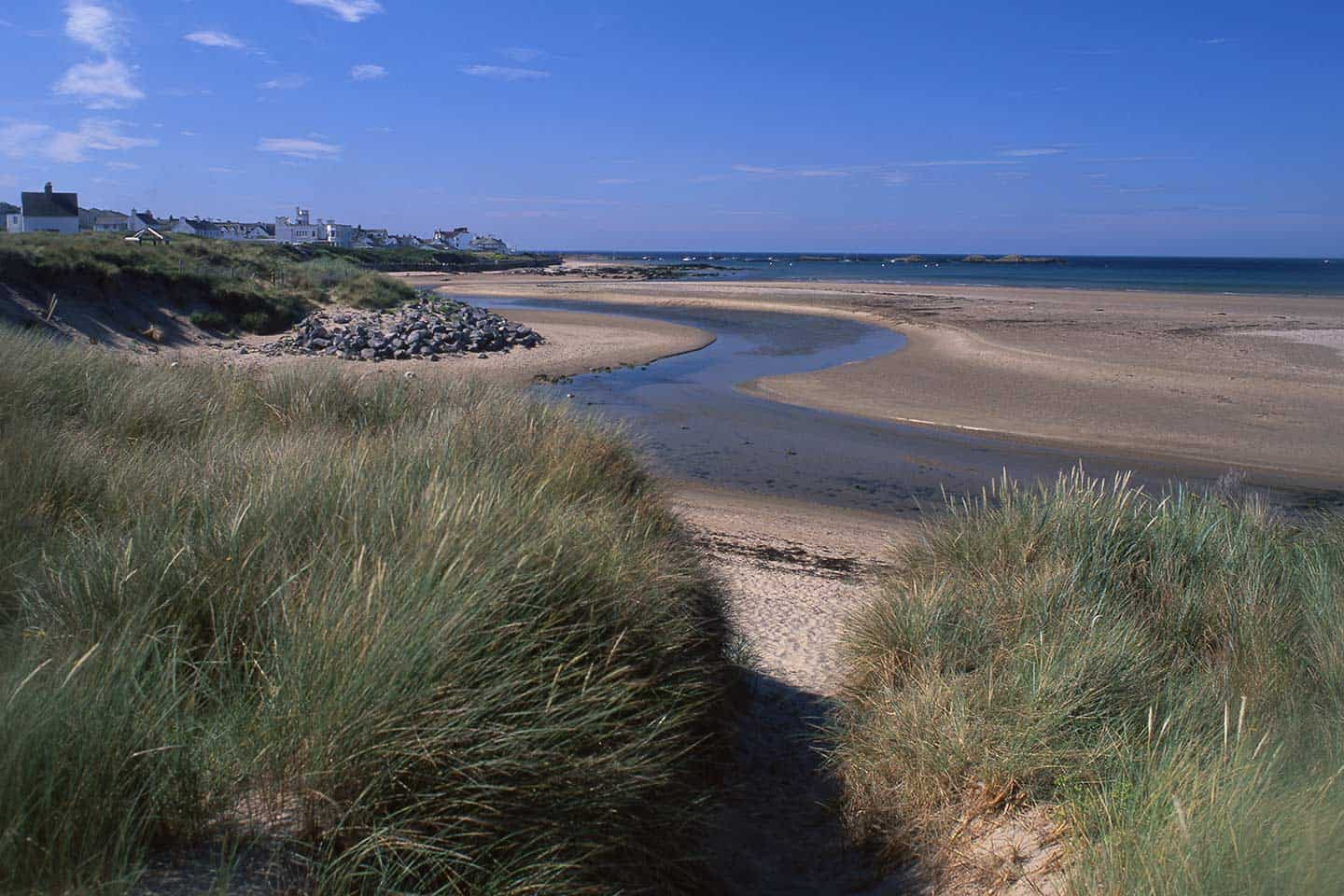 Image of Traeth Crigyll beach Rhosneigr Anglesey Wales
