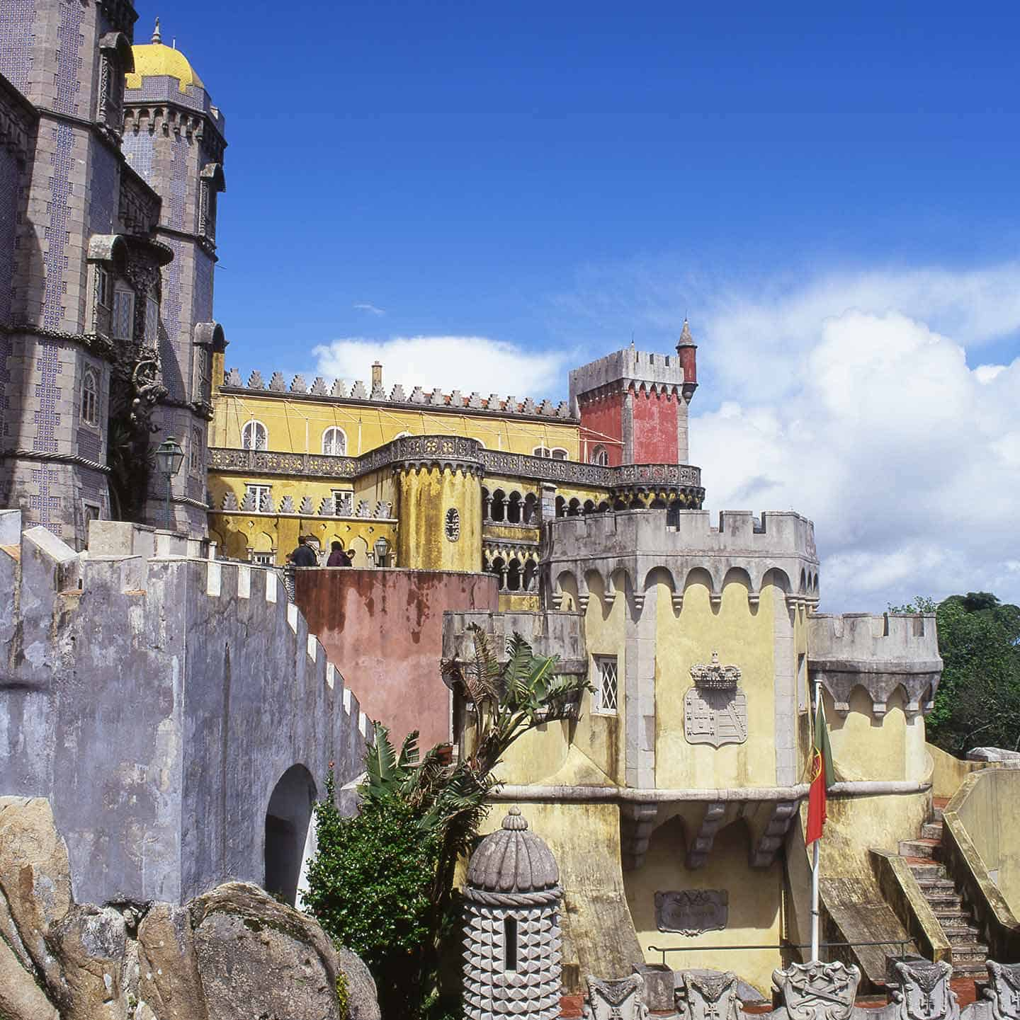 Image of the Palacio da Pena in Sintra, Portugal