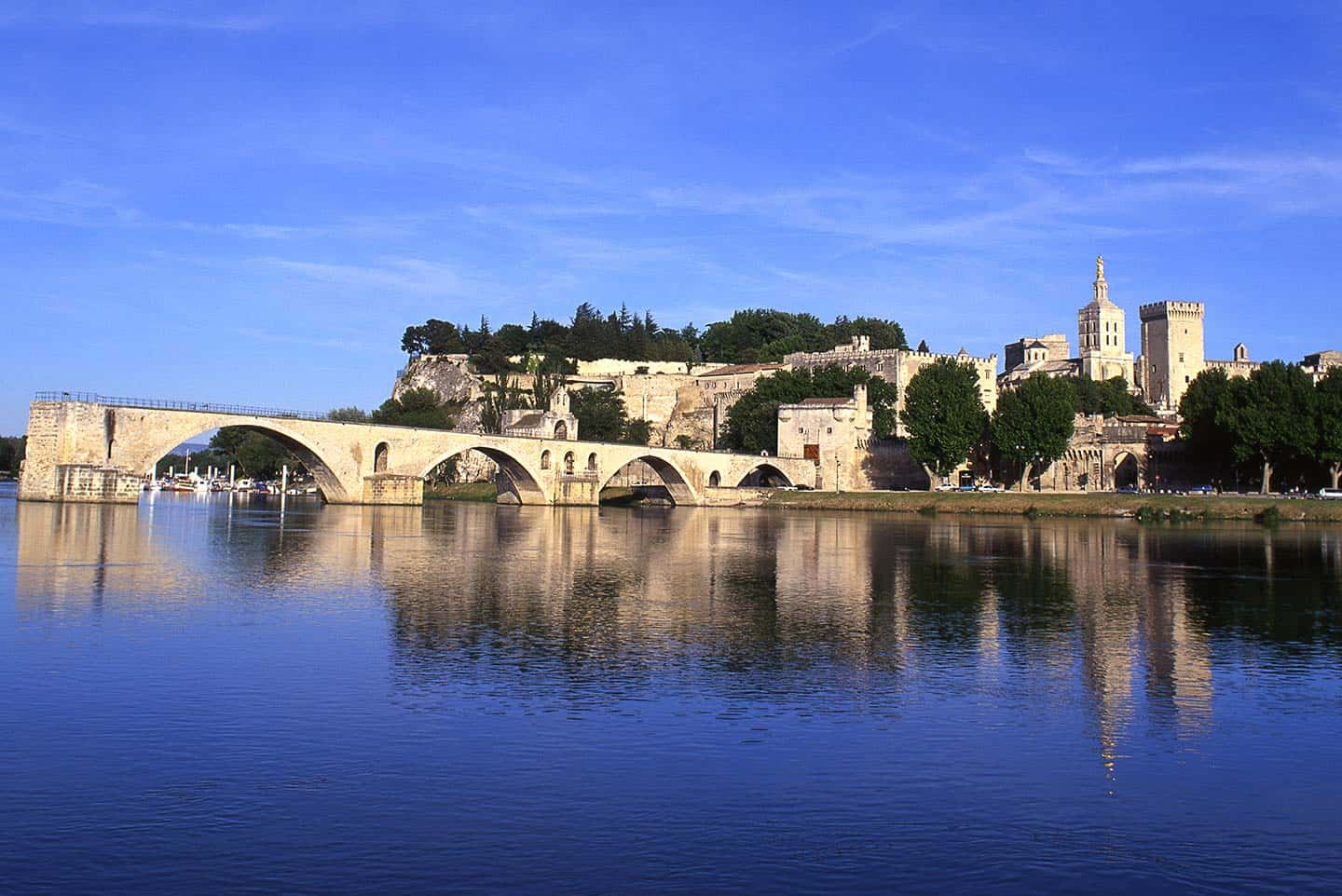 Image of the Palais des Papes and Pont d'Avignon