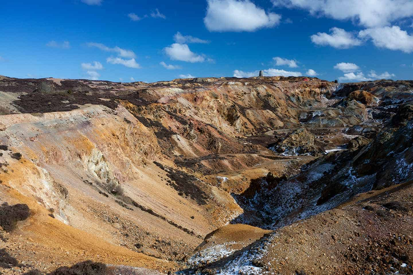 Image of Parys Mountain copper mine, Anglesey
