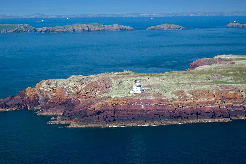 Image of Skokholm Island, Pembrokeshire, Wales