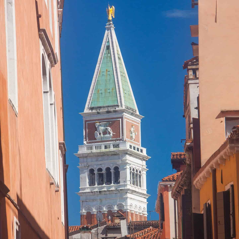 Image of St Mark's campanile Venice