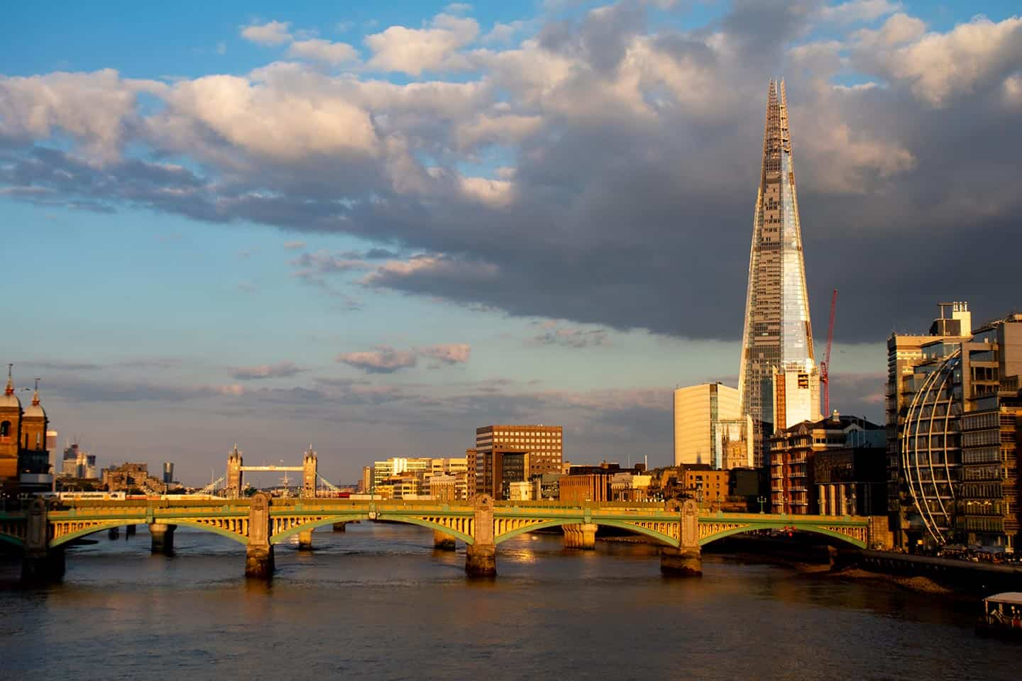 Image of Southwark Bridge and the Shard