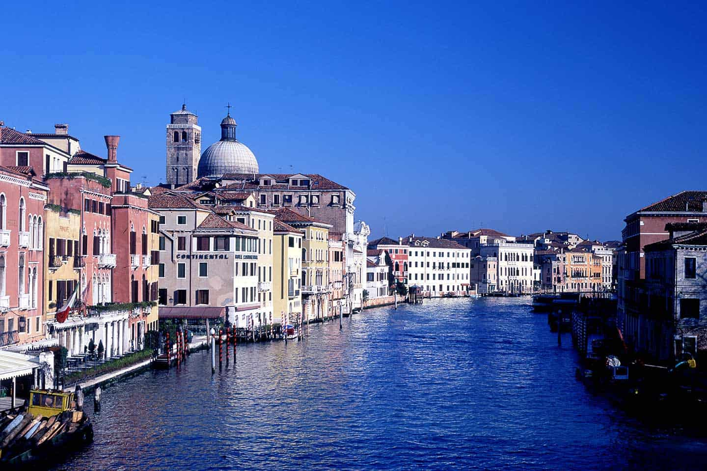 Image of San Geremia church and the Grand Canal in Venice Italy