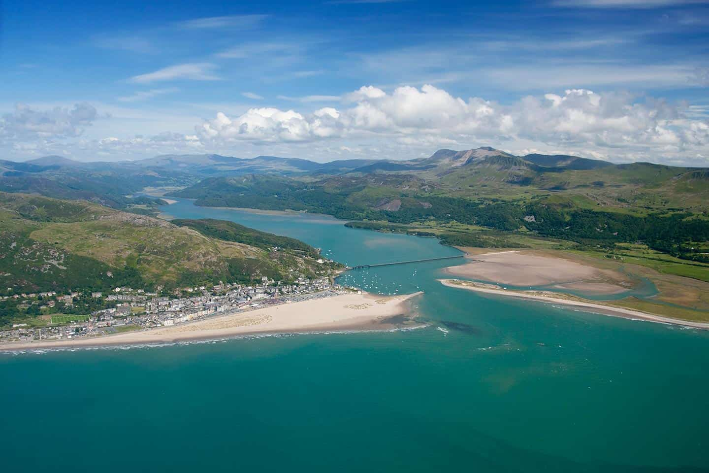 Image of Barmouth and the Mawddach estuary, Wales