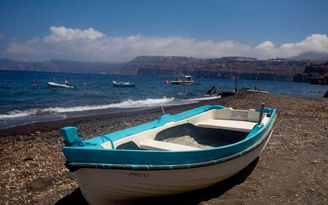 Caldera Beach Santorini