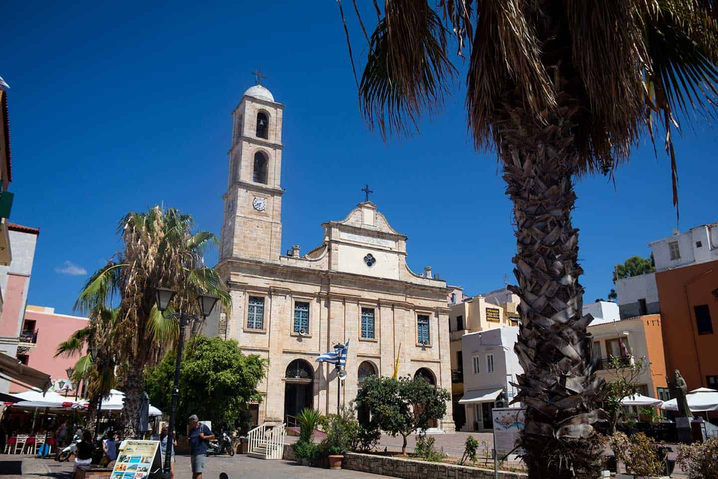 Image of the Greek Orthodox CAthedral in Chania Greece