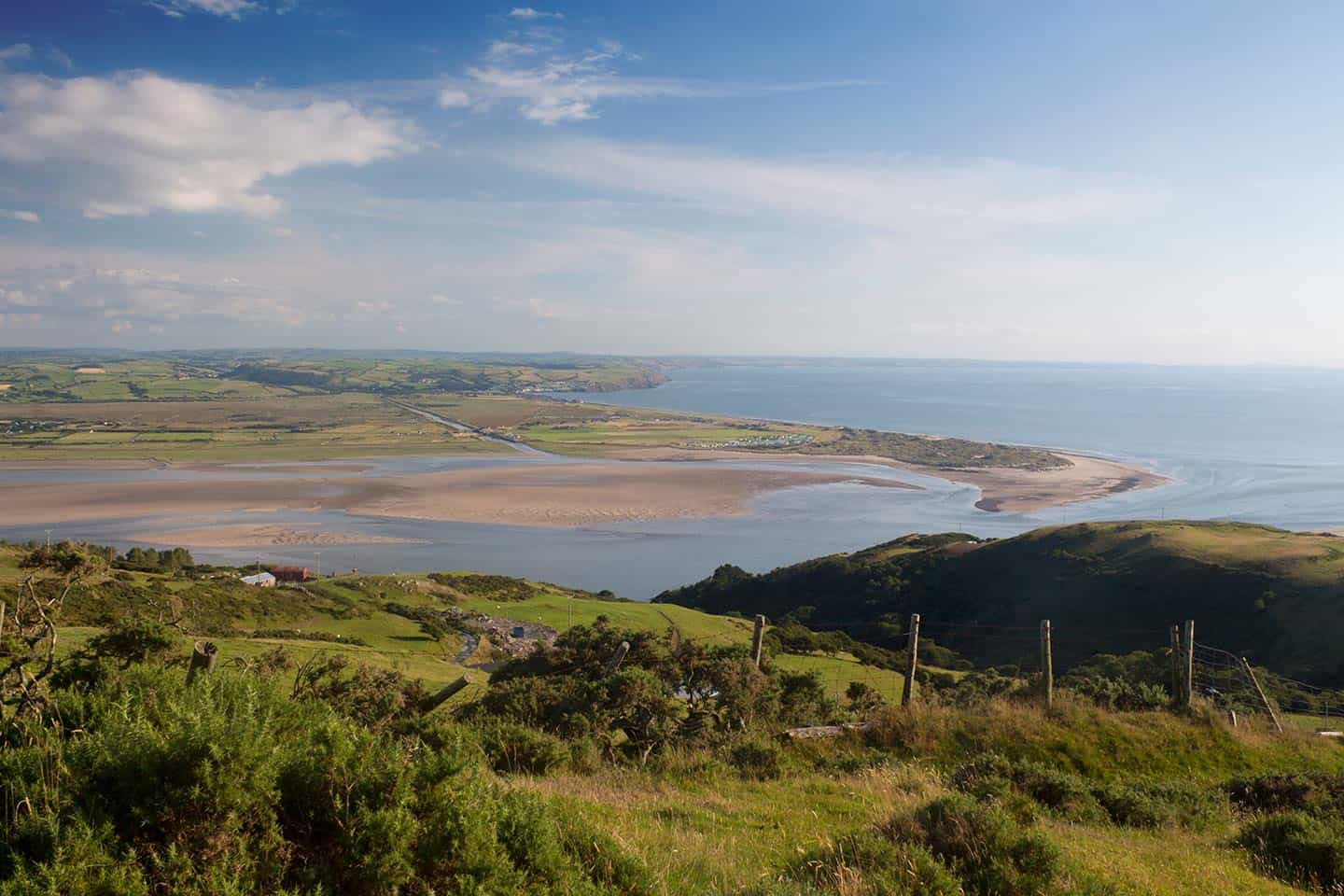 Image of the Dovey estuary, Mid Wales