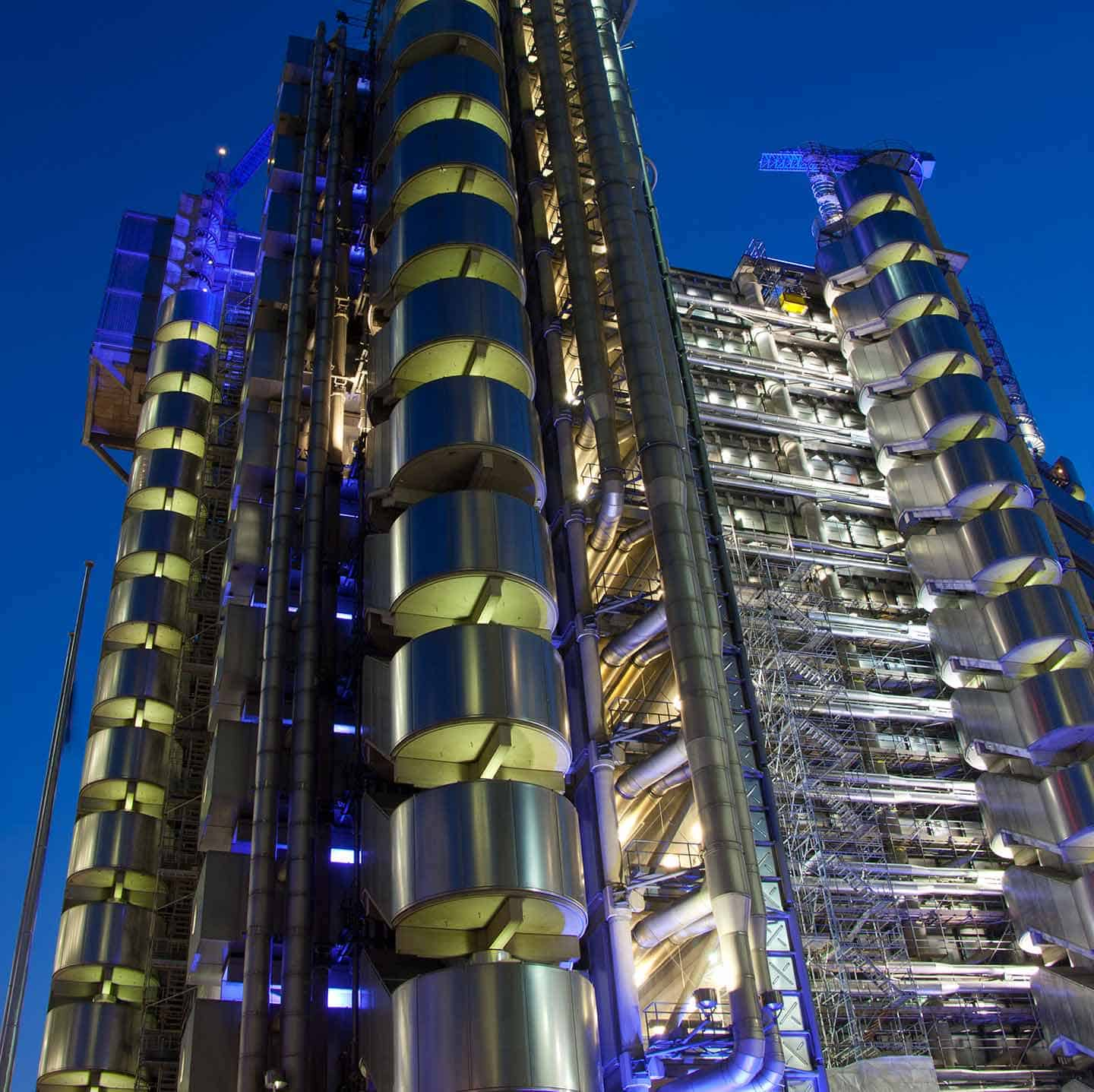 Image of the Lloyd's Insurance Building in London