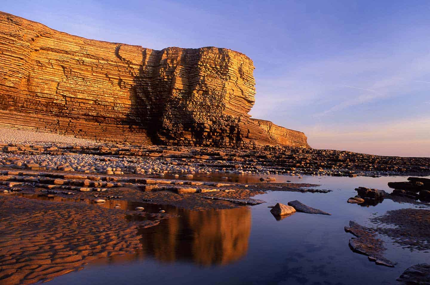Image of Nash Point headland in the Vale of Glamorgan