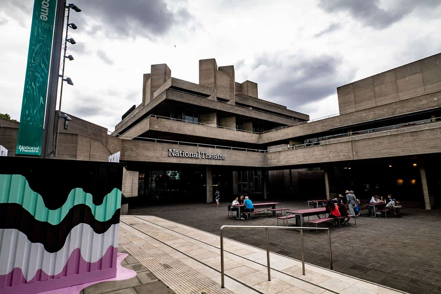 Image of the National Theatre, Southbank, London