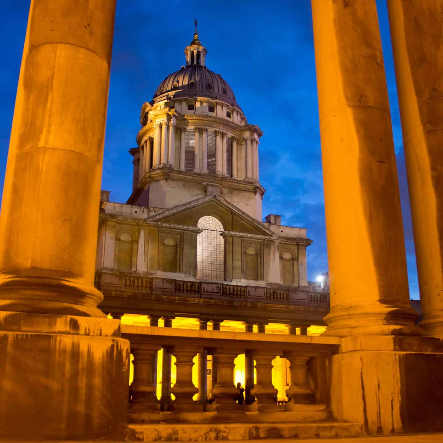 Image of the Old Royal Naval College in Greenwich, London