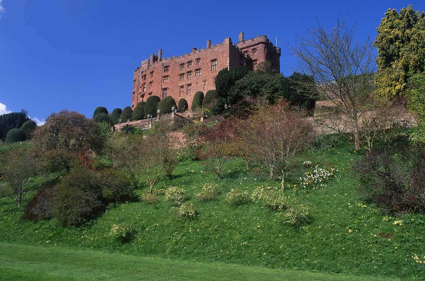 Image of Powis Castle and Gardens, Mid Wales