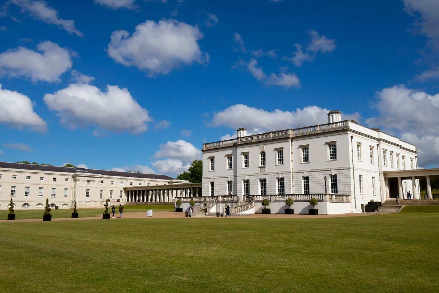 Image of the Queen's House in Greenwich, London