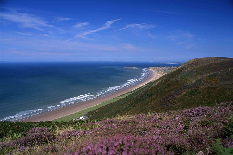 Image of Rhossili Beach Wales
