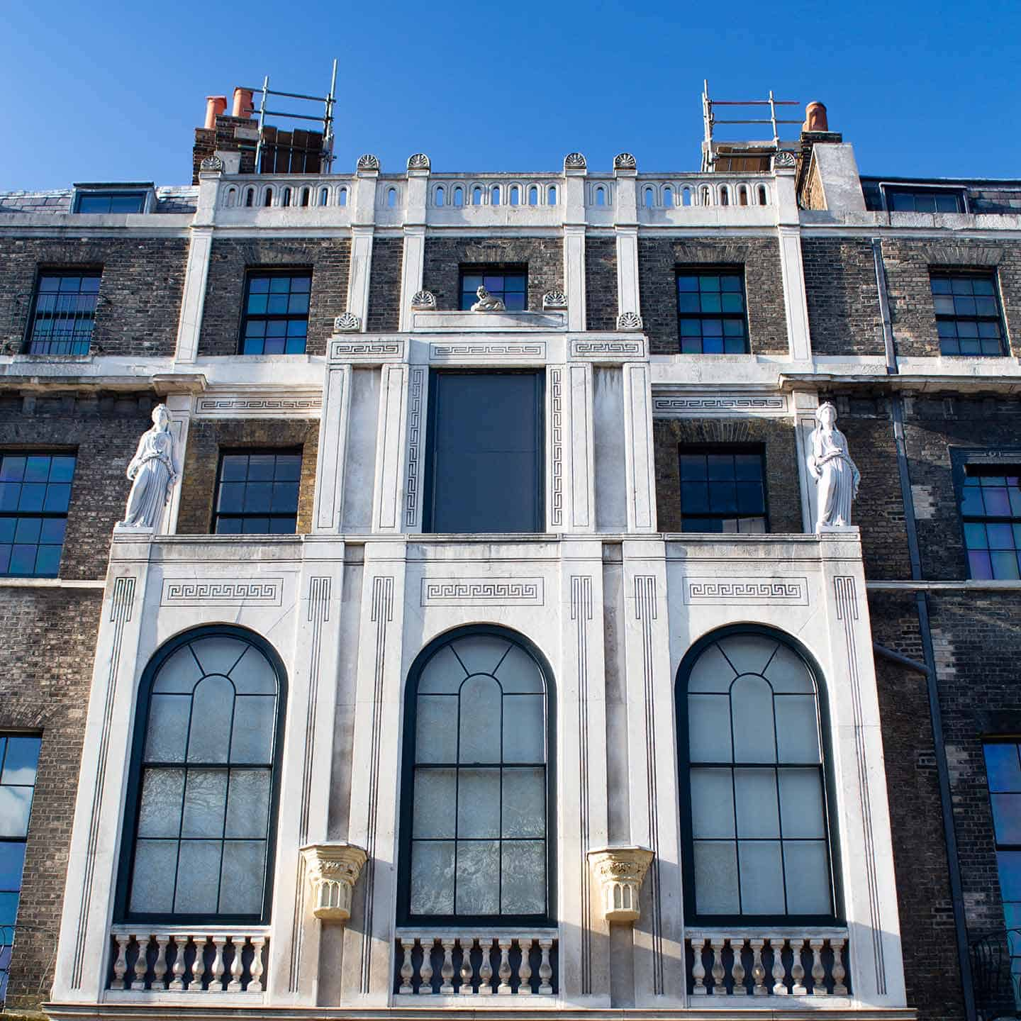 Image of the exterior of Sir John Soane's Museum in London