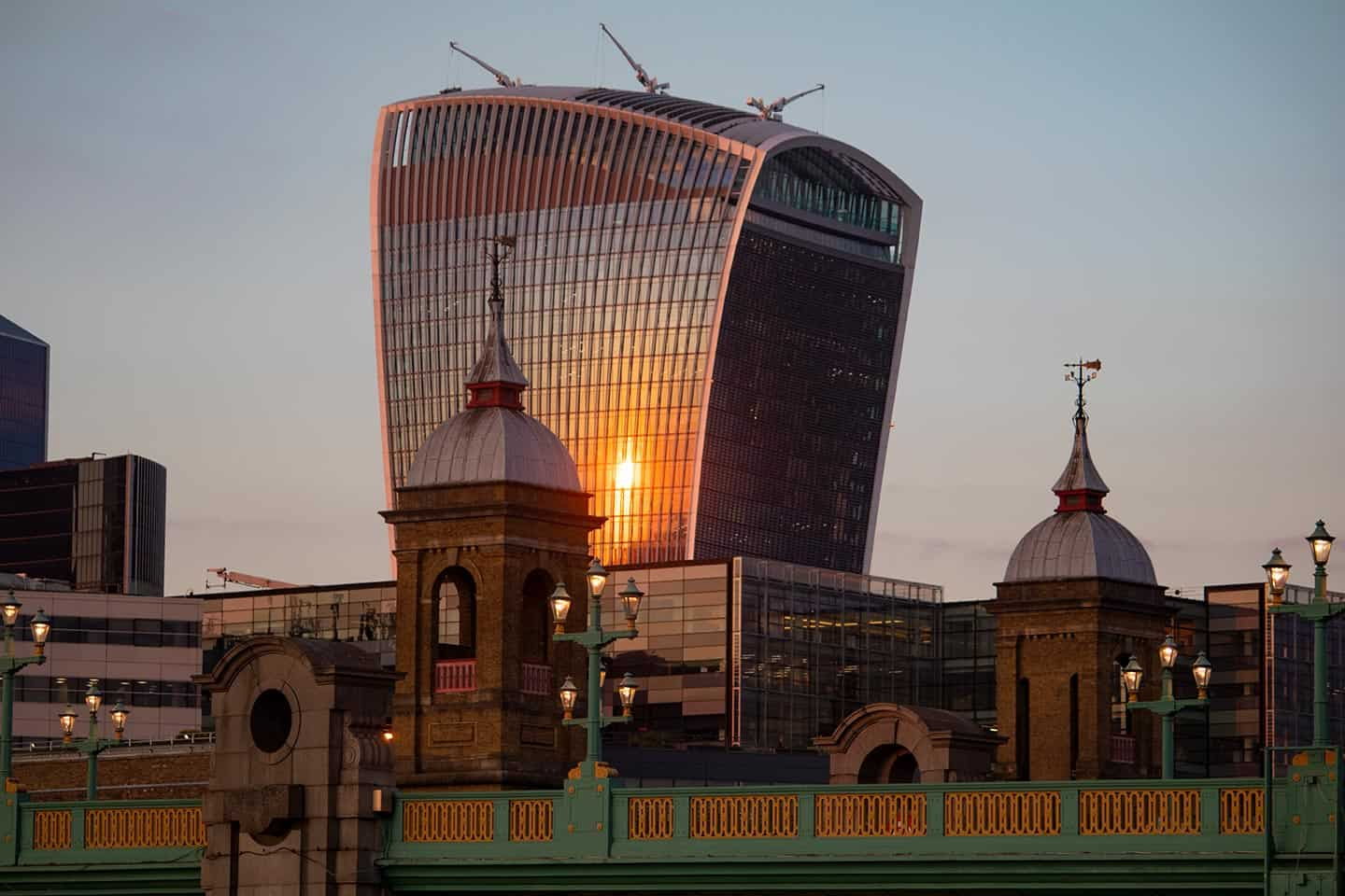 Image of 20 Fenchurch Street, better known as the Walkie-Talkie building in London