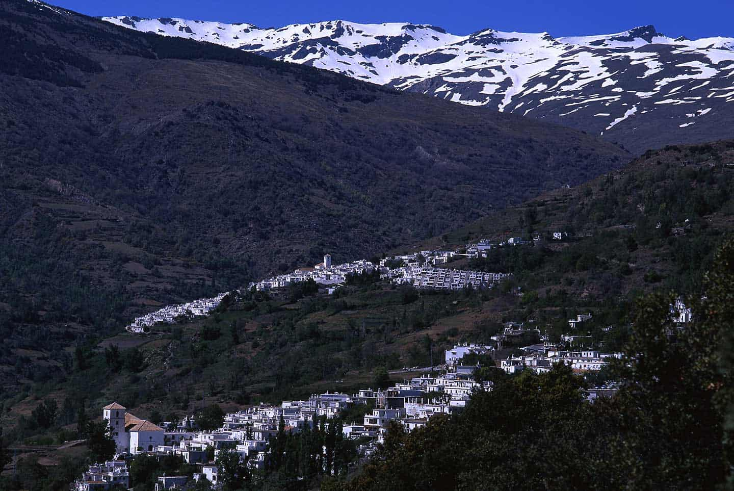 Image of villages in the Alpujarras in Andalucia, Spain