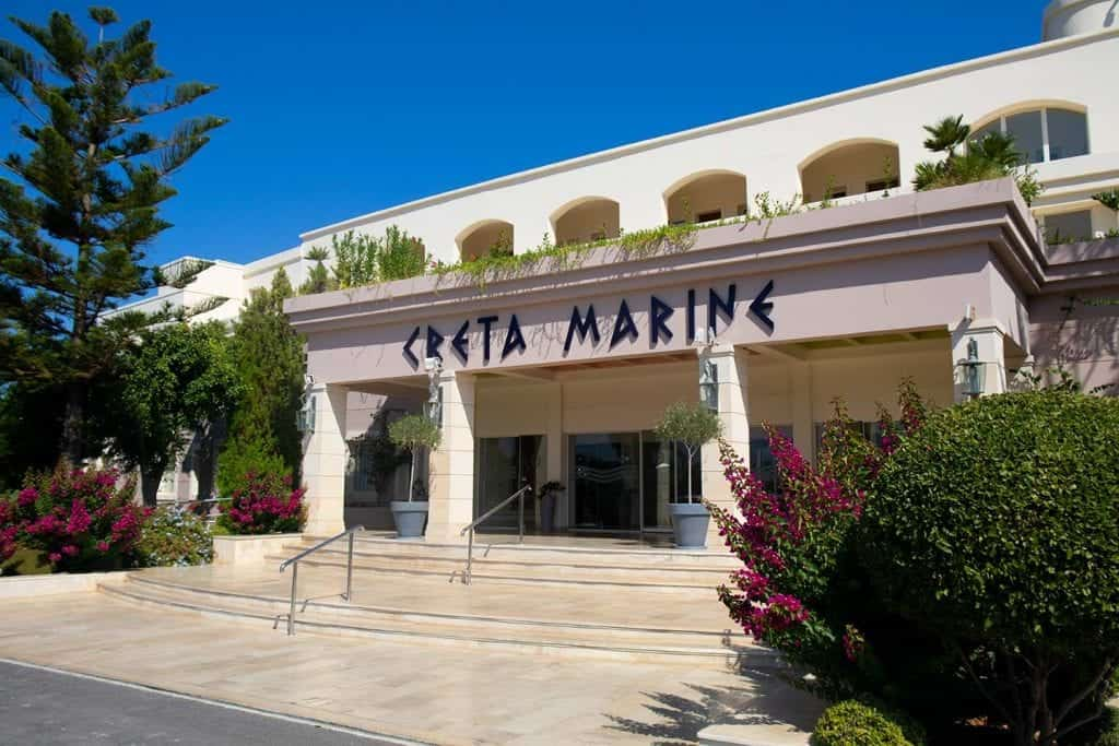 Image of the Creta Marine Hotel near Panormos Crete