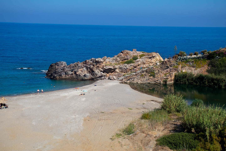 Image of Geropotamos beach Crete