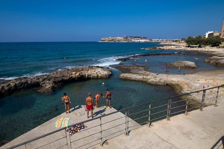Image of Koumbes beach Rethymno Crete Greece