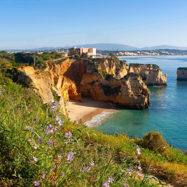 Image of Praia do Pinhao beach Lagos Portugal