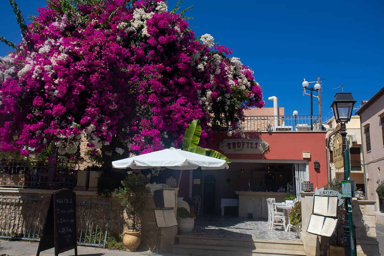 Image of Erofili restaurant in Rethymno Crete Greece
