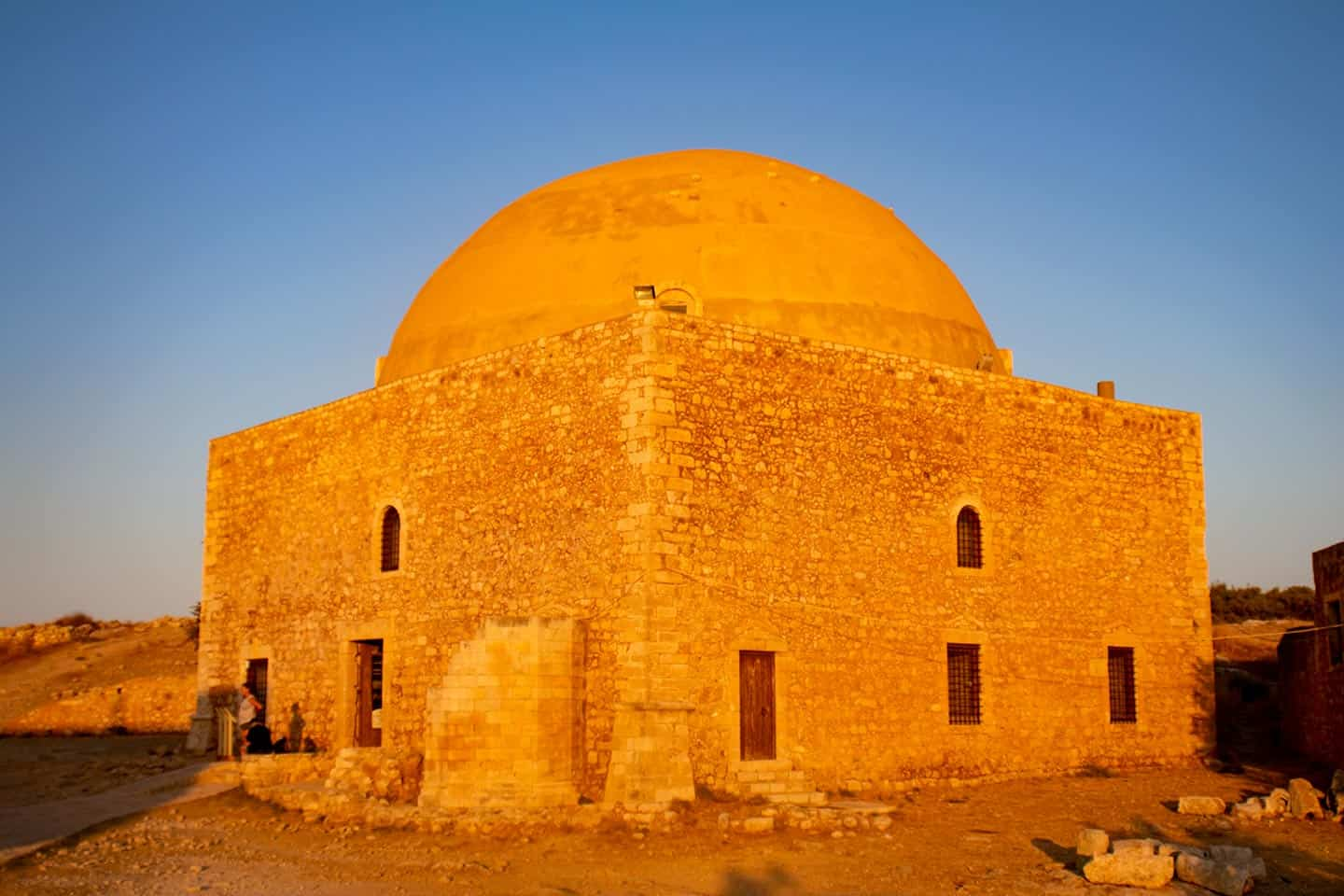 Image of the mosque in Rethymno's Fortezza