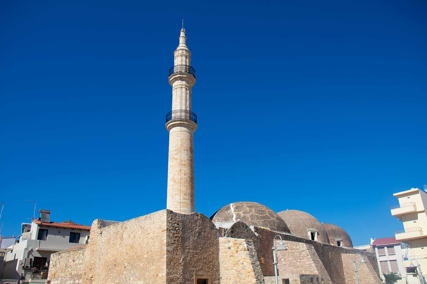 Image of the Neratze mosque in Rethymno