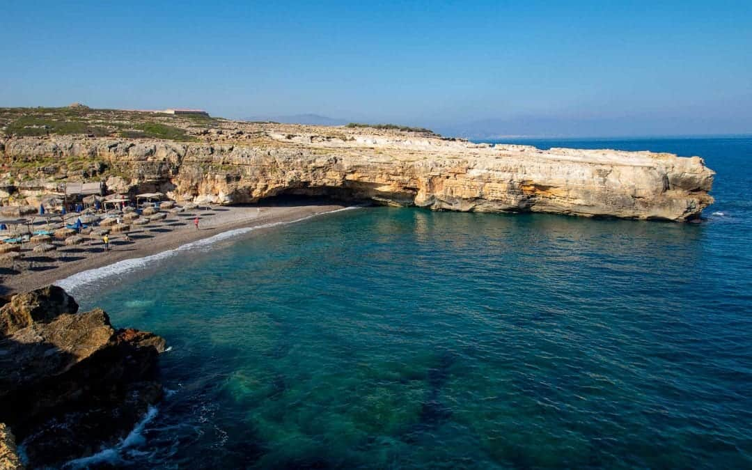 Spilies Beach Crete (great for snorkelling)