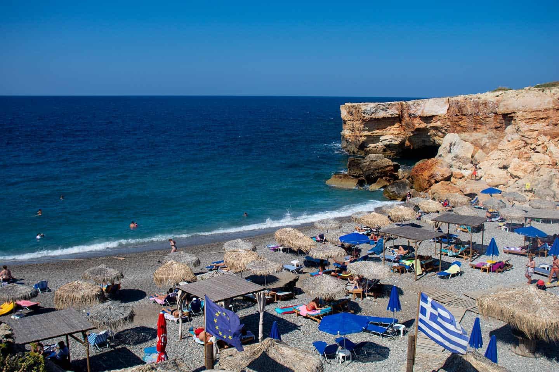 Image of Spilies beach Crete