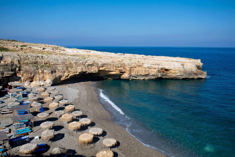 Image of Spilies beach Crete Greece