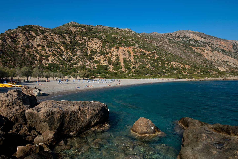 Image of Anidri beach Crete Greece