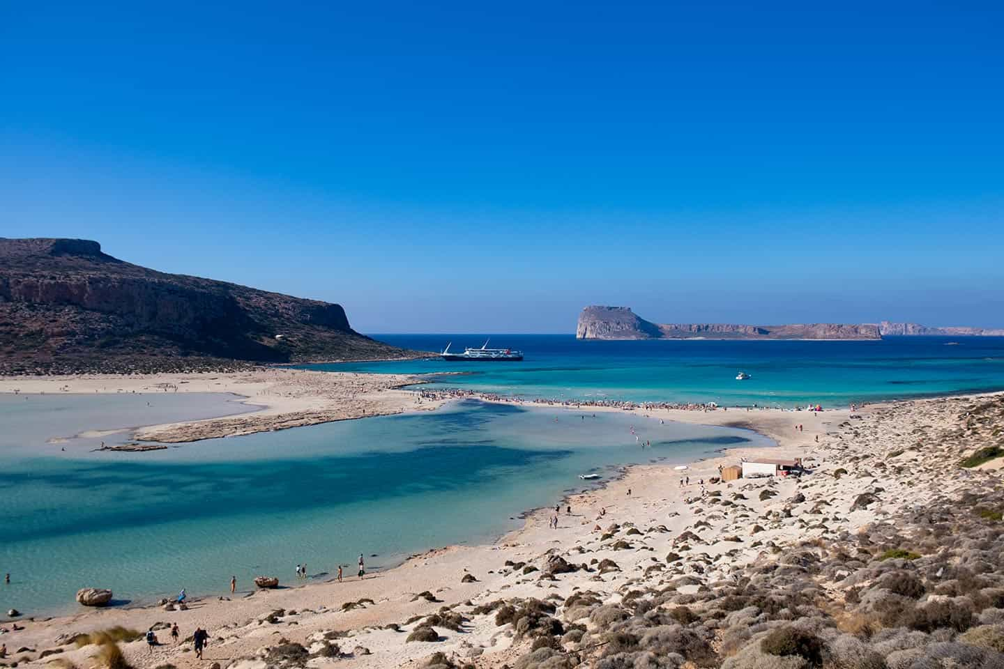 Image of Balos beach Kissamos Crete Greece