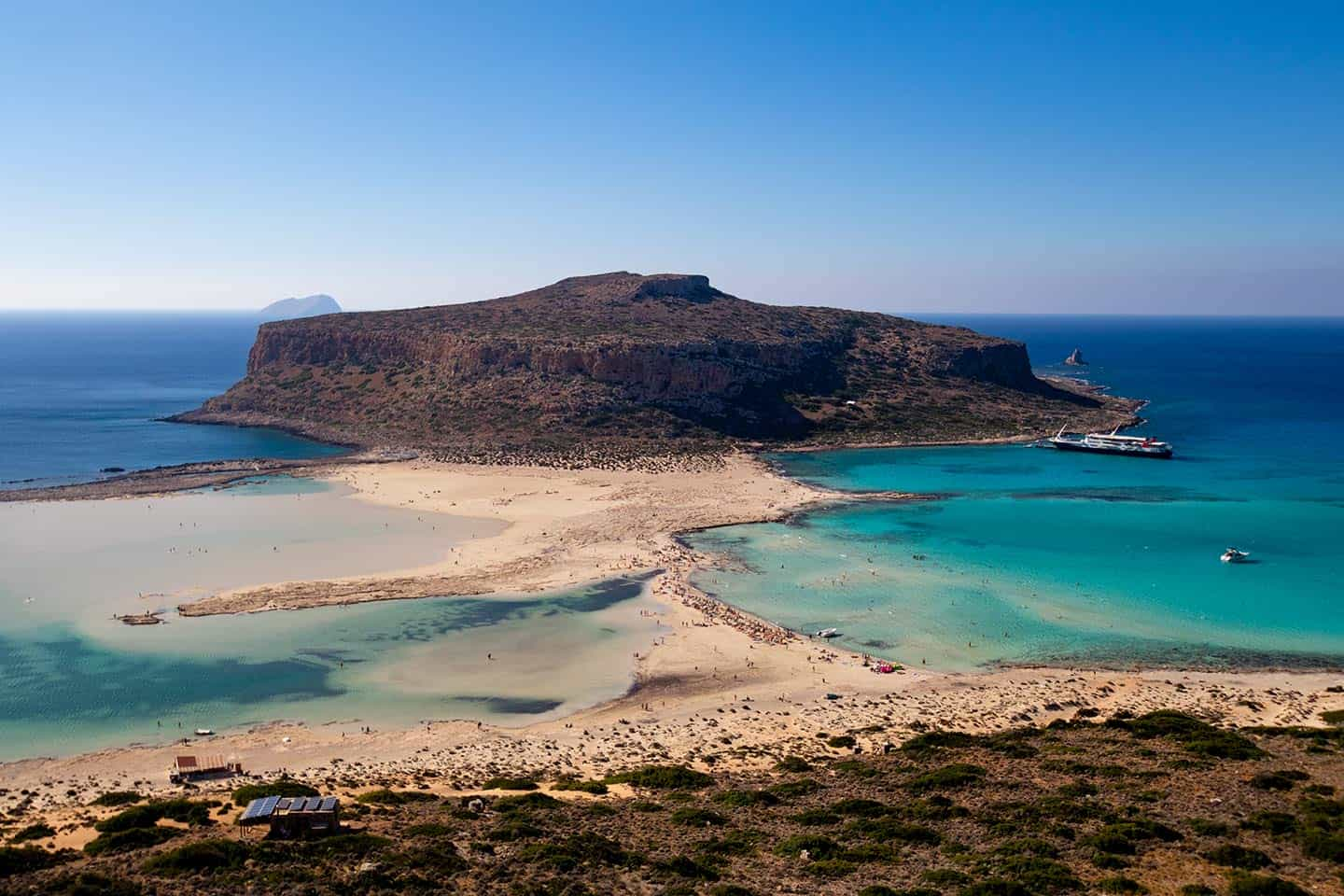 Image of Balos Lagoon Crete Greece