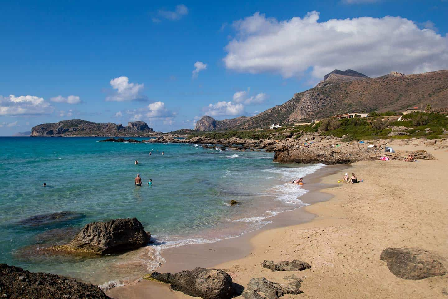 Image of Karkatsouli beach Falassarna Crete Greece