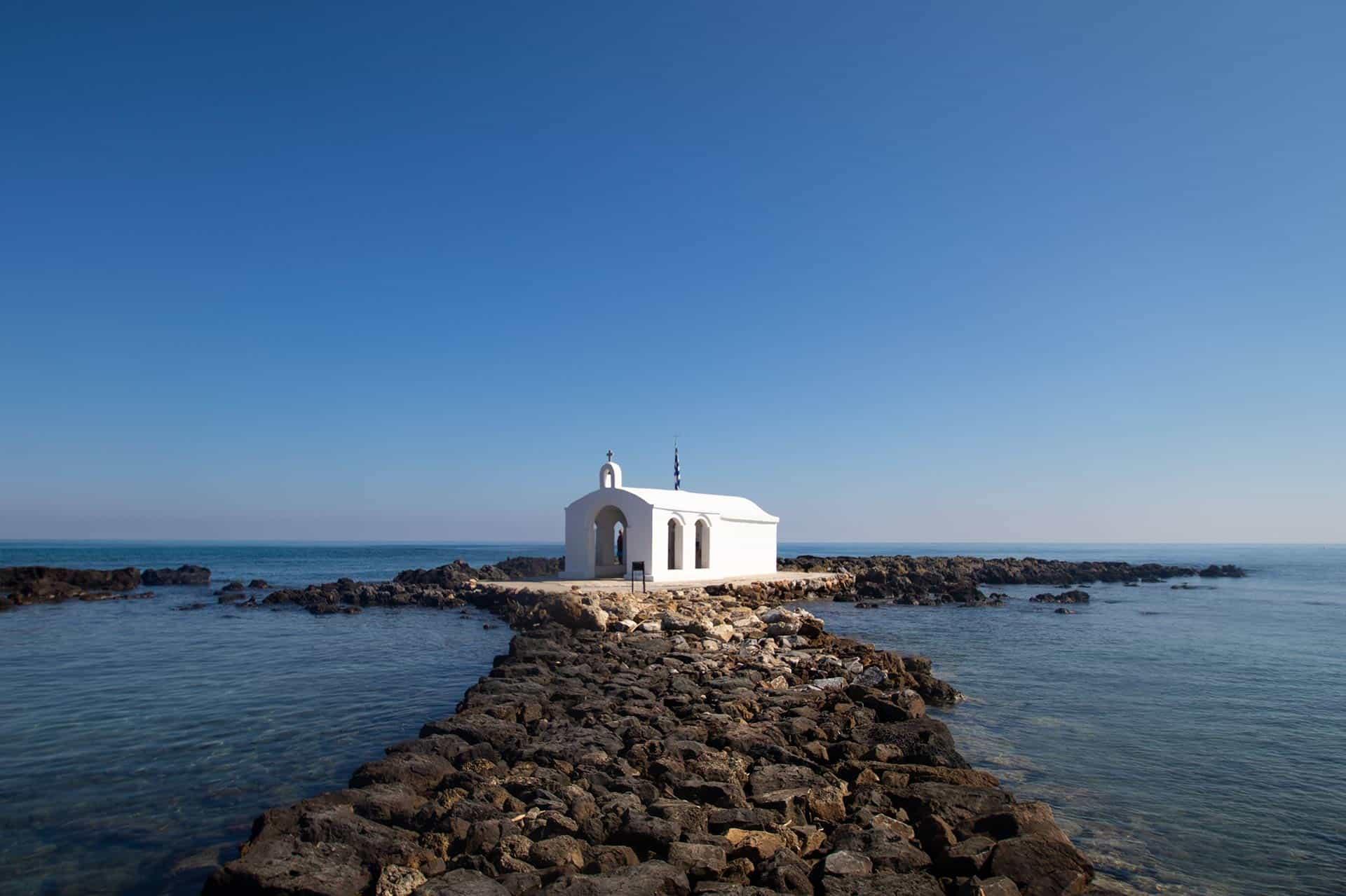 Image of Agios Nikolaos chapel in Georgioupolis Crete