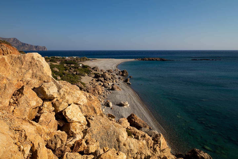 Image of Gialiskari beach near Paleochora Greece