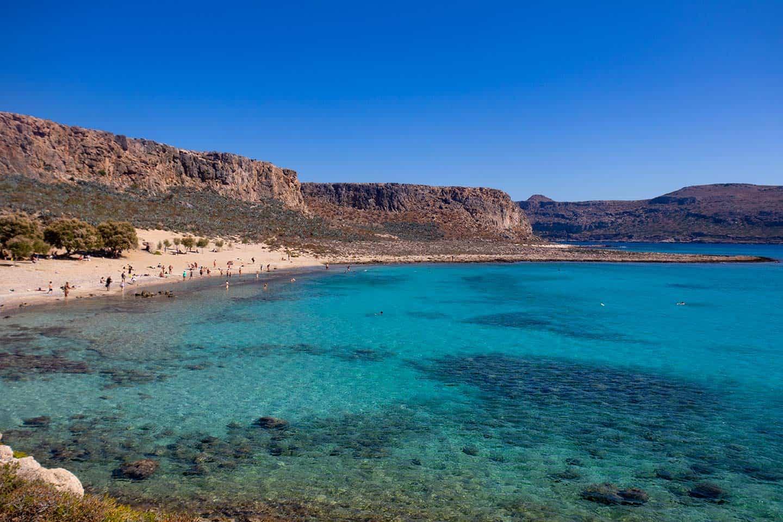 Image of Gramvousa beach Crete Greece
