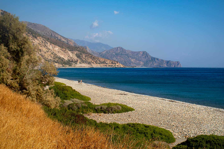 Image of Keratides beach Paleochora Crete Greece