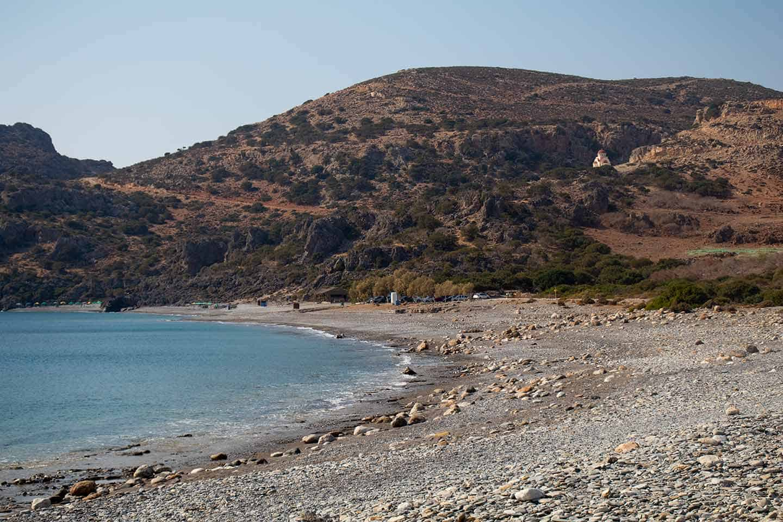 Image of Krios beach near Paleochora Crete