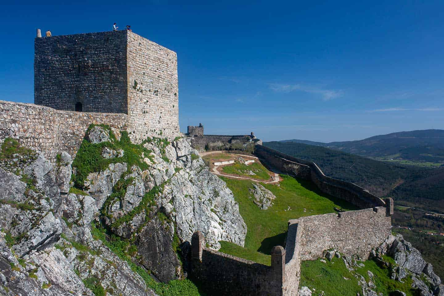 Image of the castle in Marvao Portugal