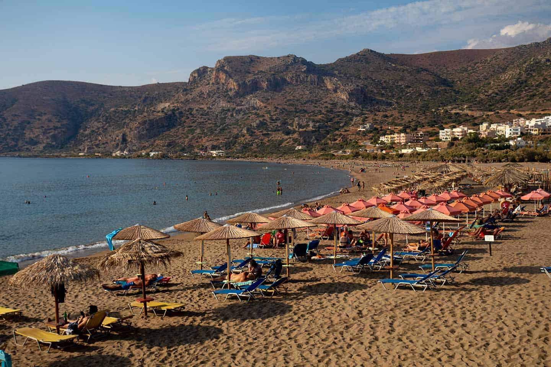 Image of Pachia Ammos Paleochora beach Crete