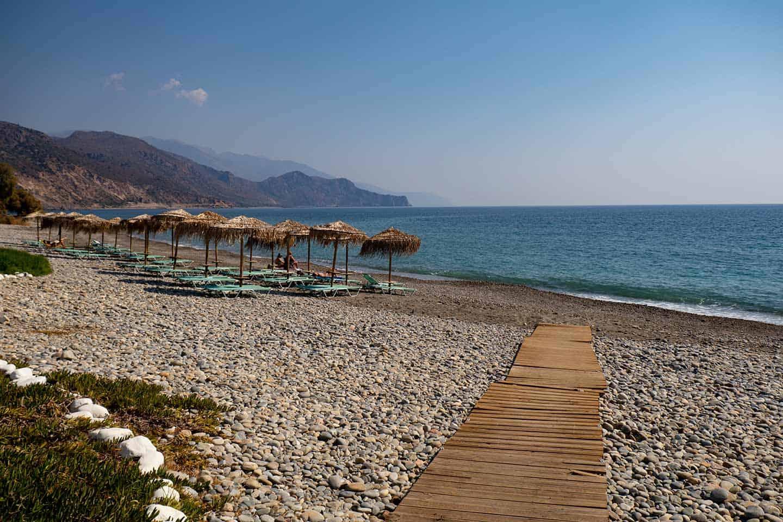 Paleochora beach Crete Chalikia Image of Chalikia beach Paleochora