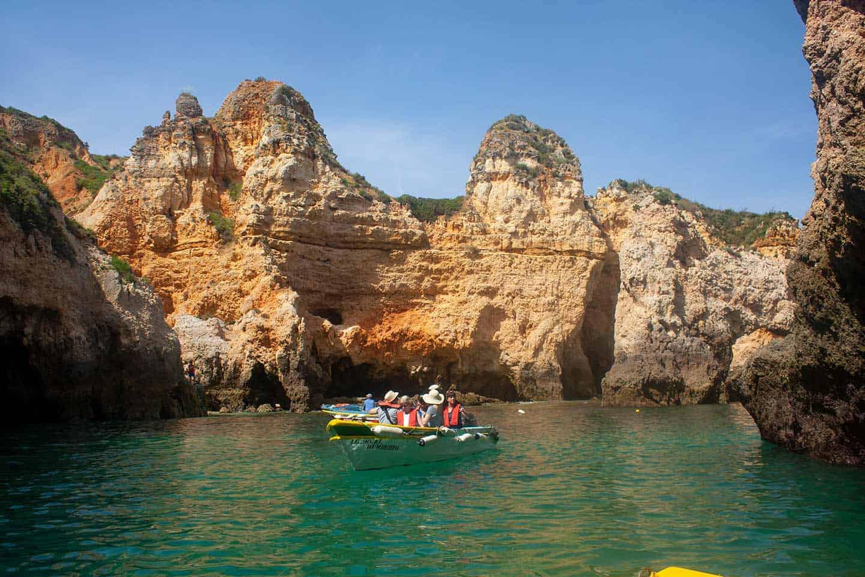 Image of a boat trip around Ponta da Piedade, Algarve