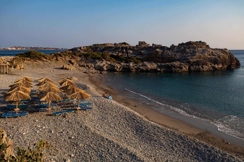 Image of Psilos Volakas beach near Paleochora Crete