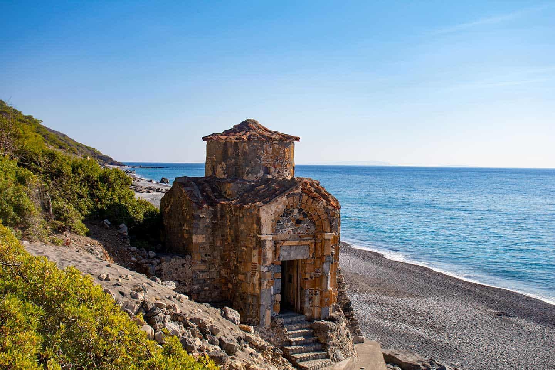 Image of Agios Pavlos church Agia Roumeli Crete