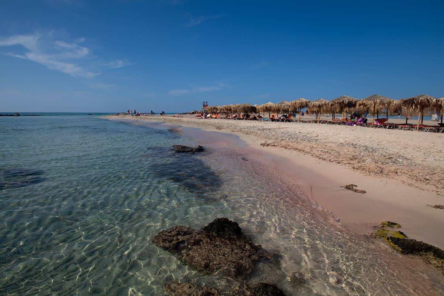 What to see in Crete Image of Elafonissi beach Crete